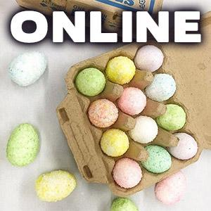 image for a ONLINE CLASS! Handmade Marshmallow Easter Eggs with Pastry Chef Natasha Goellner