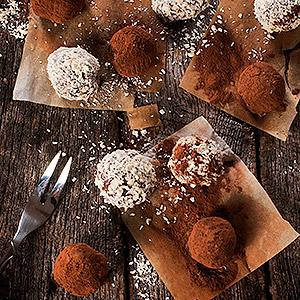 image for a Handmade Chocolate Truffles-The Perfect Holiday Sweet Treat
