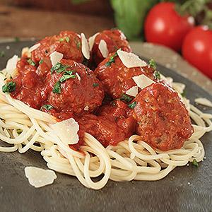 image for a Junior Chefs (9-14): Kids Cook Classic Italian: Handmade Spaghetti & Meatballs and More!
