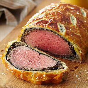 image for a Couples Cook An Elegant Beef Wellington Dinner For Two