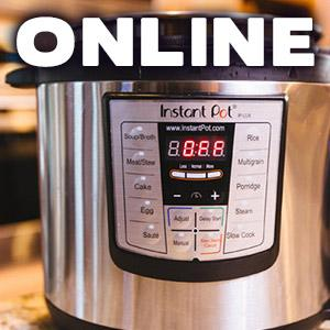 image for a ONLINE CLASS! Make Friends with your Instant Pot & Pressure Cooking with Chef Jill Garcia Schmidt