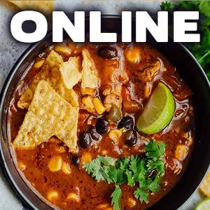 image for a ONLINE CLASS! Family Favorites: Soups & Stews with Chef Jill Garcia Schmidt