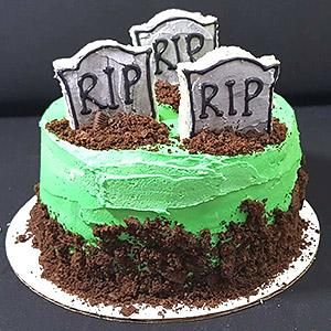 image for a Junior Chefs (9-14): Let's Decorate Spooky Cakes For Halloween