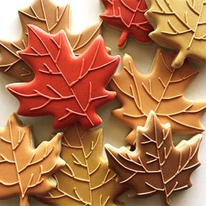 image for a Cookie Decorating Workshop - Fall Pinterest Favorites (More Cookie Deco Added on 12/13 & 12/16)
