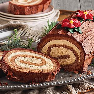 image for a Holiday Yule Log (Bûche de Noël) with Pastry Chef Natasha Goellner