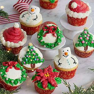 image for a Junior Chefs (9-14): A Festive 'Ace of Cupcakes' Competition with Pastry Chef Natasha Goellner
