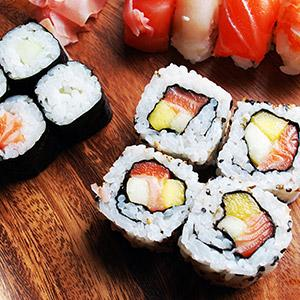 "image for a Junior Chefs (9-14): ""Let's Roll"" Sushi Party!"