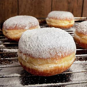 image for a Doughnut-ology: The Bountiful Bismarck