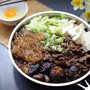 image for a Japanese Sukiyaki – A Traditional One Pot Meal