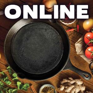 image for a ONLINE CLASS! Cast Iron Skillet Cooking Featuring Southern Flavors with Chef Richard McPeake