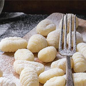 image for a The Art of Making Ricotta Gnocchi… with Three Perfectly Paired Sauces!