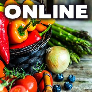 image for a ONLINE CLASS! Cooking With Fresh Seasonal Produce From the Farmers' Market with Chef Jill