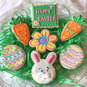 image for a Junior Chefs (ages 9-14): Cookie Decorating Fun For Kids - Easter & Spring Designs