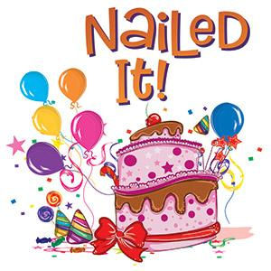 image for a (No Longer Avail) 'Nail It'! An Intensely Serious (Or Not) Cake Decorating Comp (Class Added 12/20)