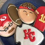The image for Intro To Cookie Deco- Eat 'Em While We Beat 'Em! KC Chiefs Cookie Deco Party