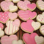 The image for Cookie Love! A Beginner's Cookie Decorating Class featuring Sweet Valentine Designs