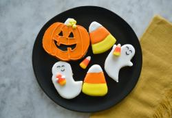 The image for (No Longer Available) Junior Chefs:A Spooktacular Cookie Decorating Class (More Cookie Deco on 11/8)